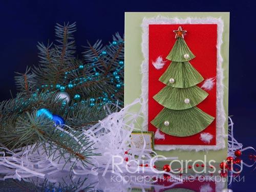 Фото lt b gt новогодняя lt b gt lt b gt открытка lt b gt гофрированная елка